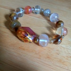 Price Reduced Beautiful chunky quartz bracelet